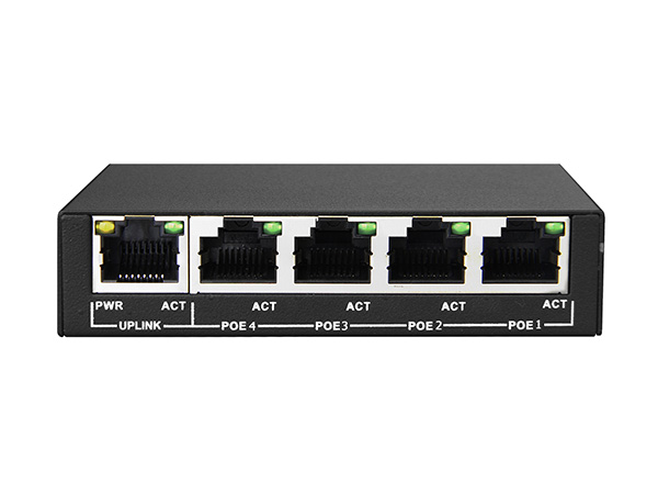 4+1 100M Unmanaged PoE Switch